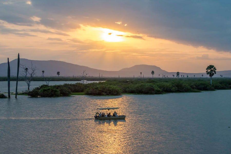 Boat ride in Seous Tanzania