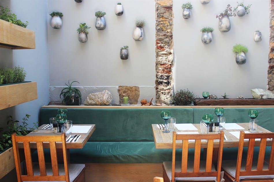 Homage Best Restaurants in Cape Town