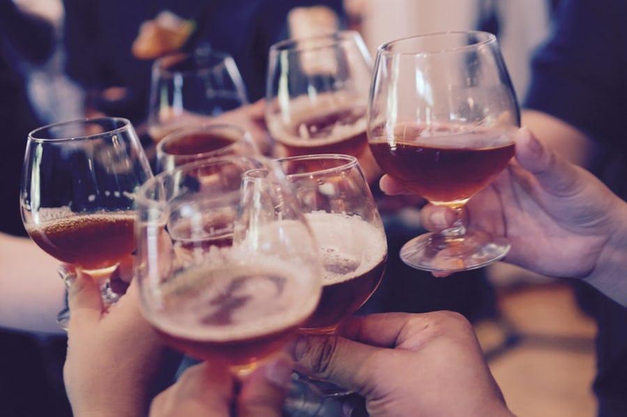 Beer tasting at Birkenhead Brewery