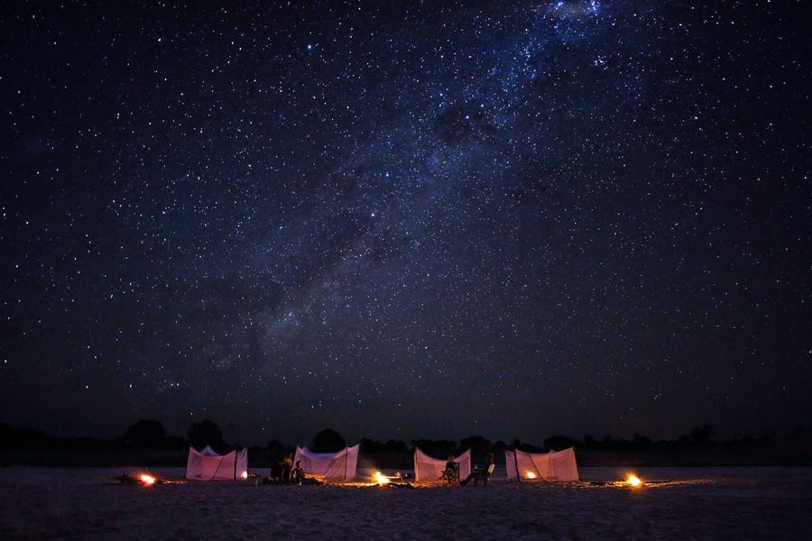 Fly camping south luangwa african adventure