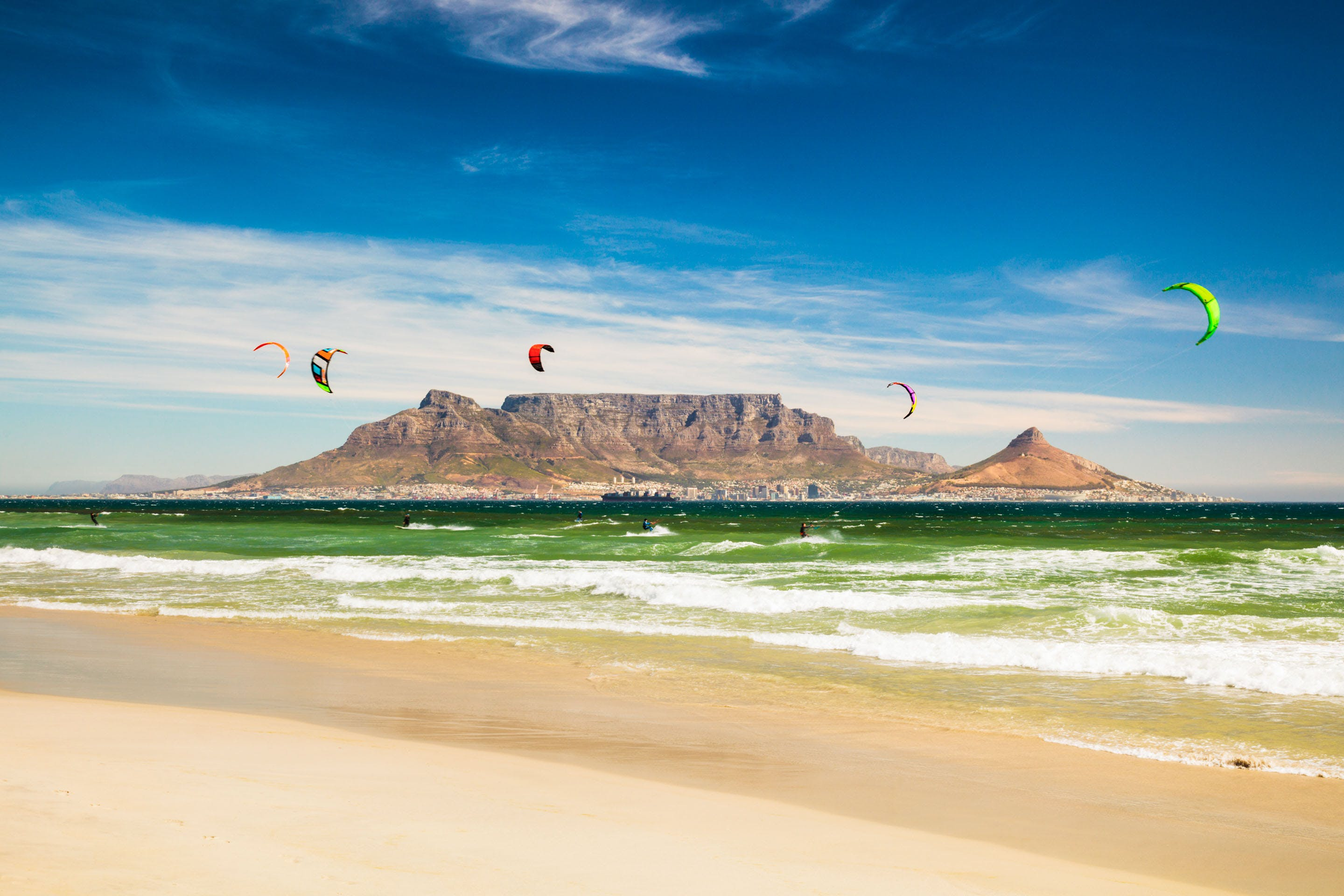 Kite surf cape towns greatest adventures