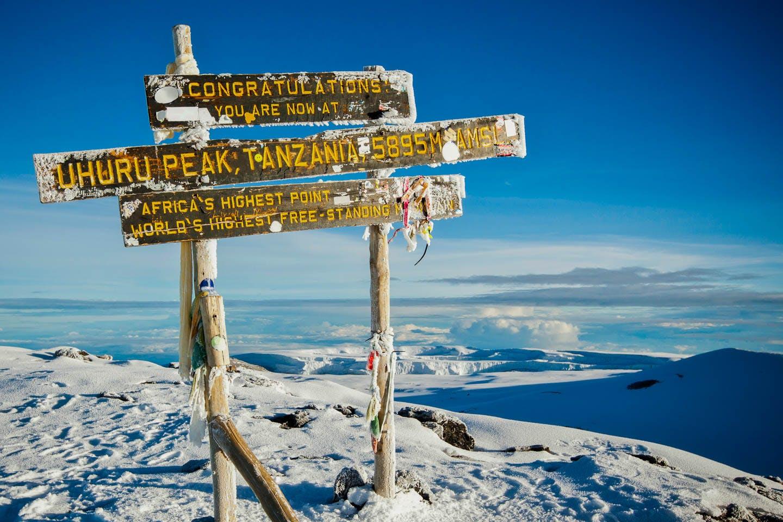 Climb kilimanjaro kenya top 10 african adventures
