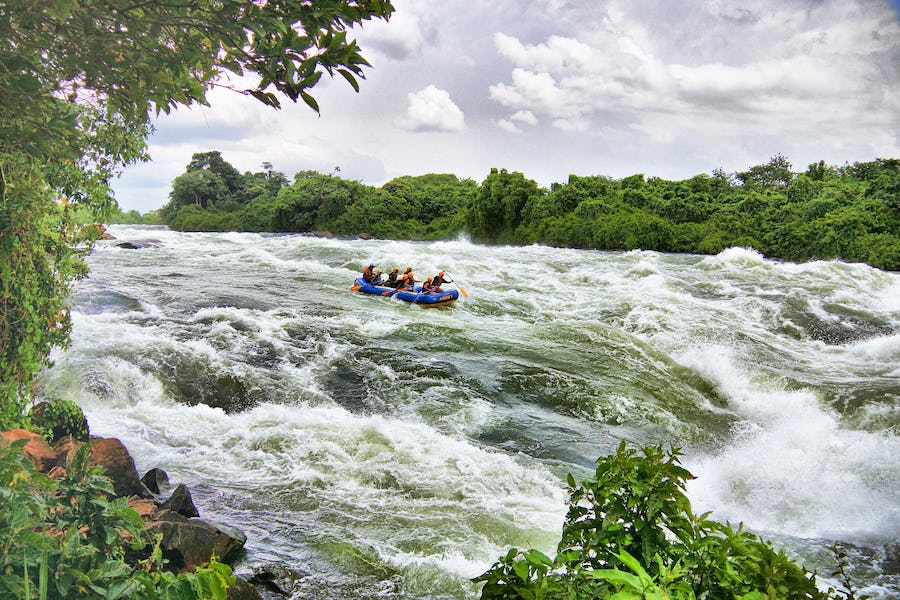 white water rafting the nile top african adventures