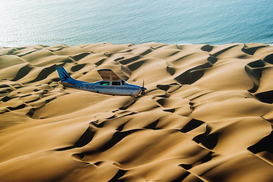 skeleton coast flying safari top 10 africa adventures