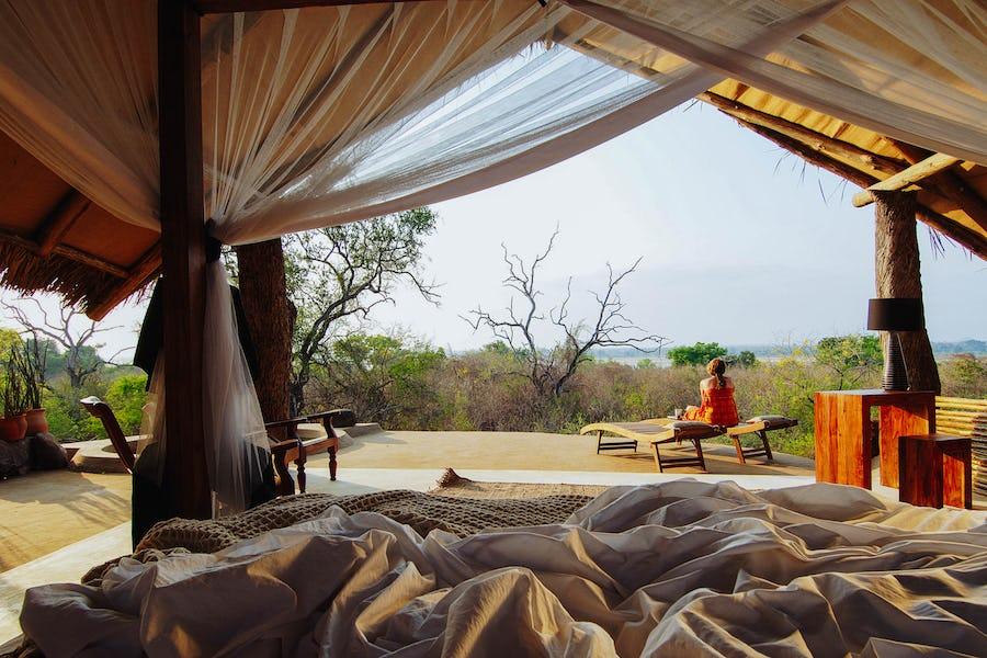 kiba point tanzania top private safari lodge