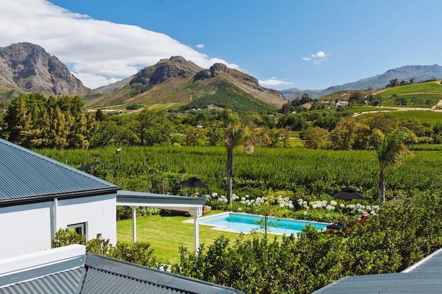 la cle franschoek south africa top private safari lodge