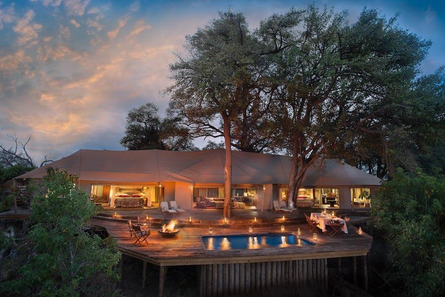 safari dhaw botswana top private safari lodge