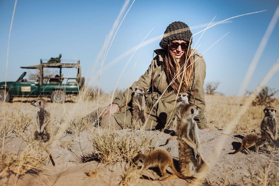 Makgadigadi pans botswana honeymoon adventure