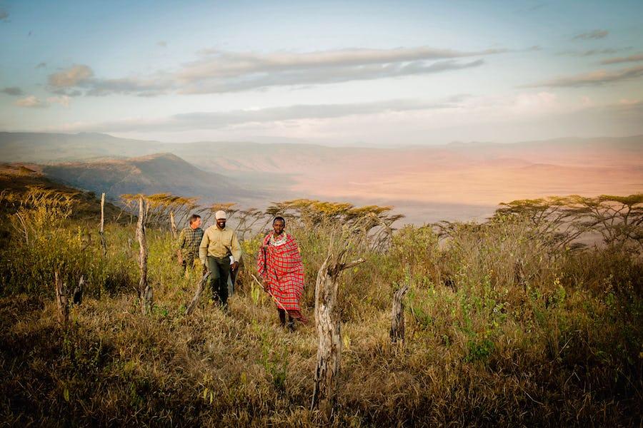 Tanzania Ngorongoro Entamanu Walking Safari