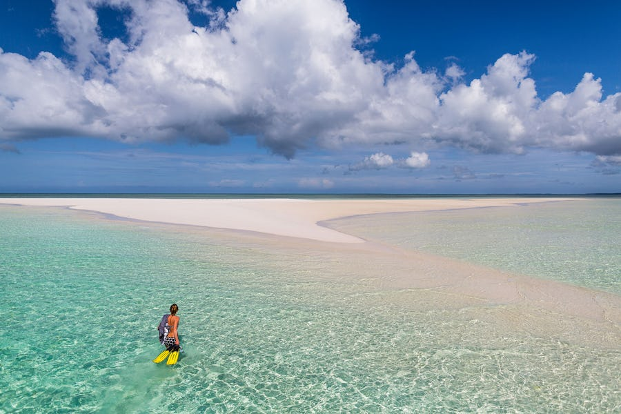 The manta resort sandbank pemba island tanzania