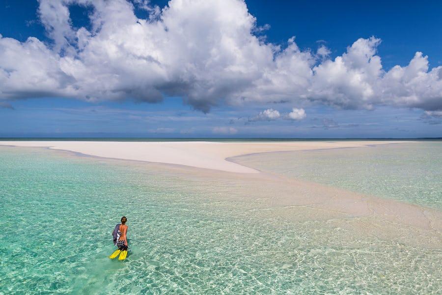 The manta resort sandbank pemba island tanzania