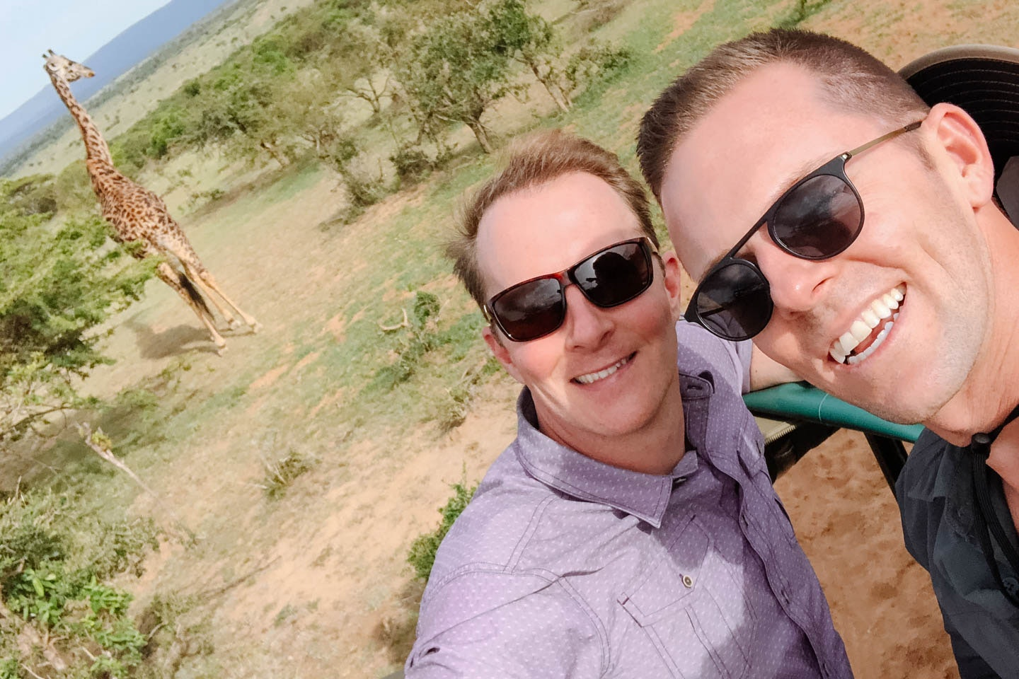 James and Michael's trip Africa