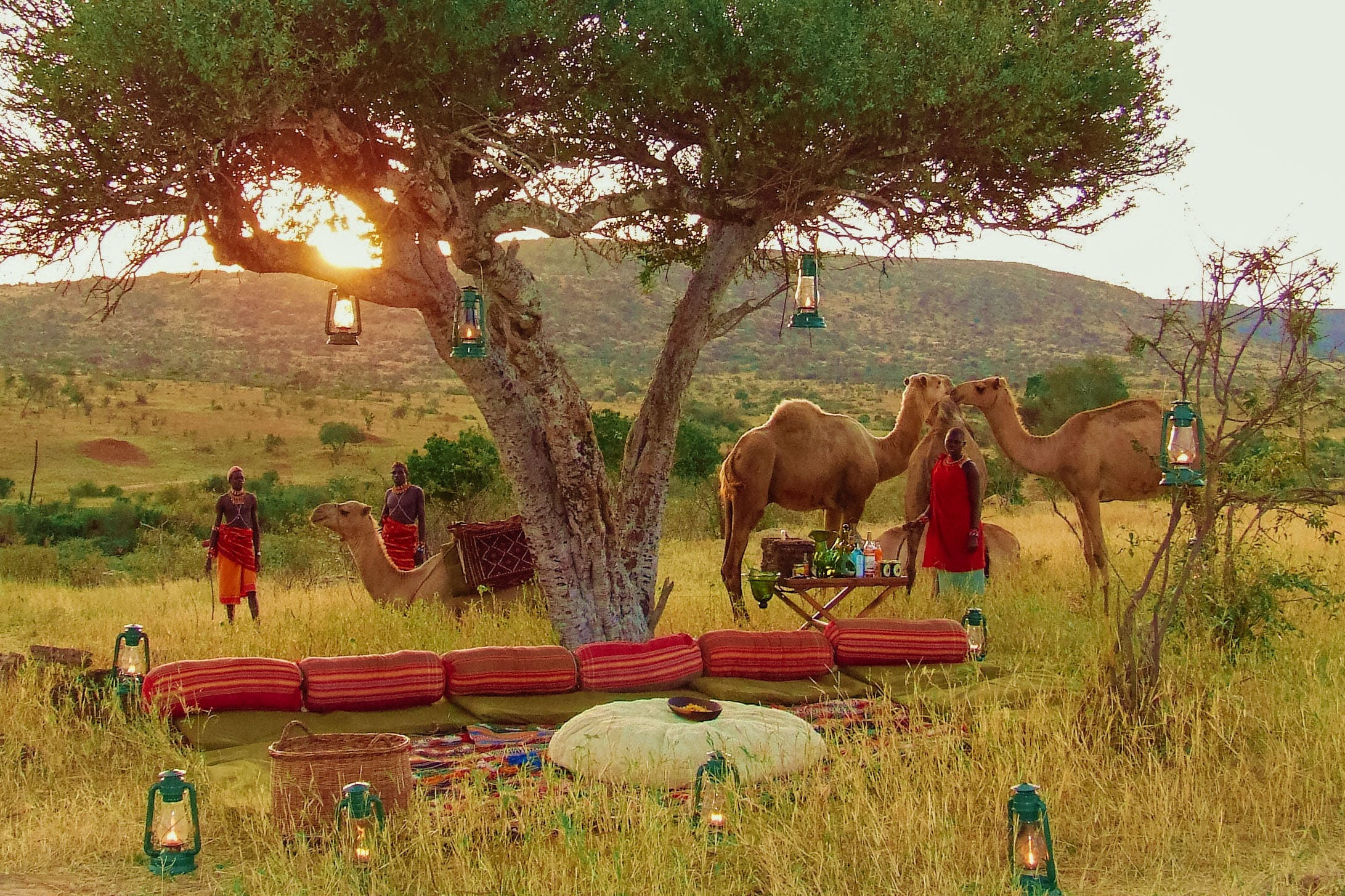 Lemarti Camp, Laikipia, Kenya