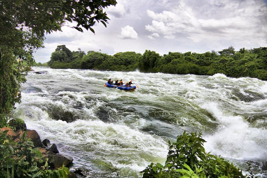 rafting, Jinja