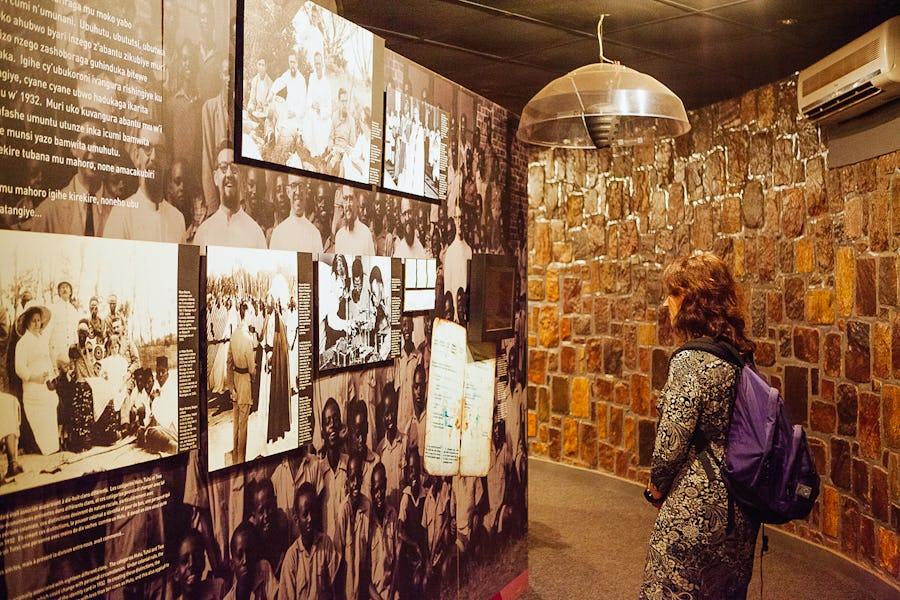 Rwanda genocide memorial Kigali