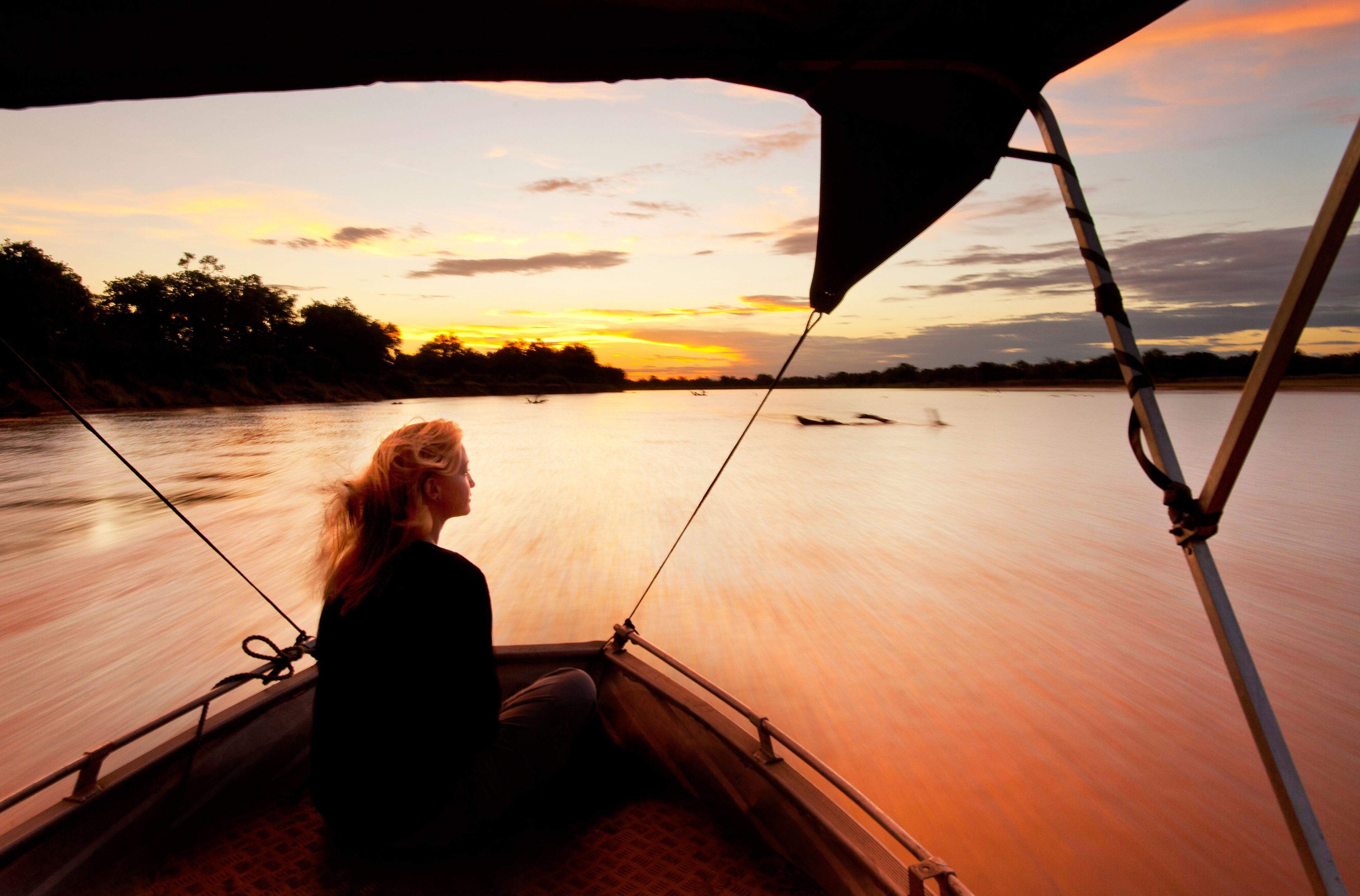 Boat Trip in South Luangwa National Park - What to do in Zambia