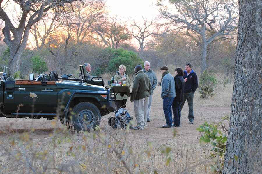 sundowner, thornybush, Kruger