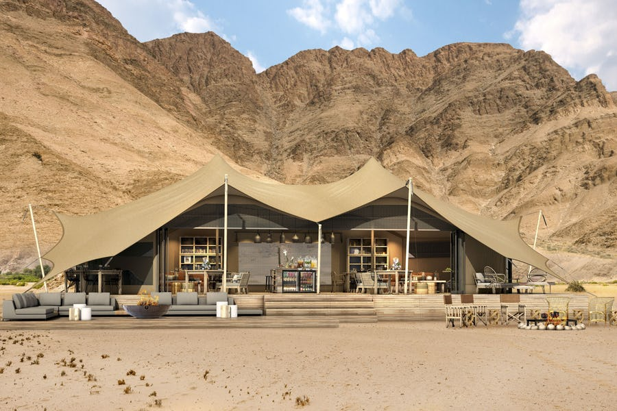 Honeymoon hoanib valley camp skeleton coast top lodges for a royal
