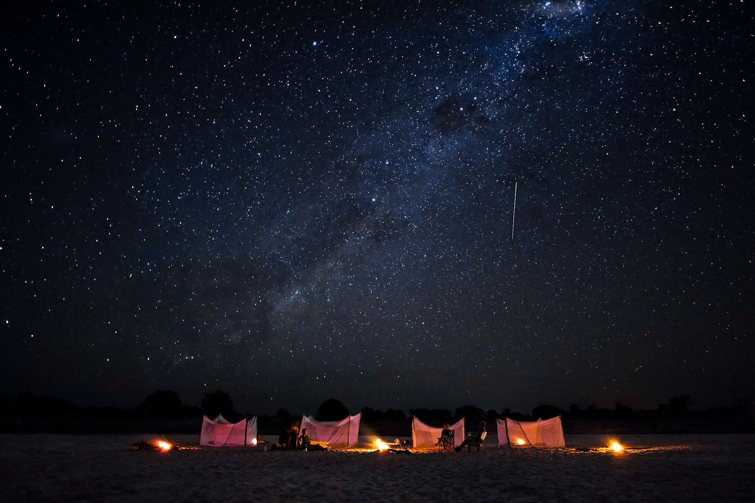 Fly camping South Luangwa National Park - What to do in Zambia