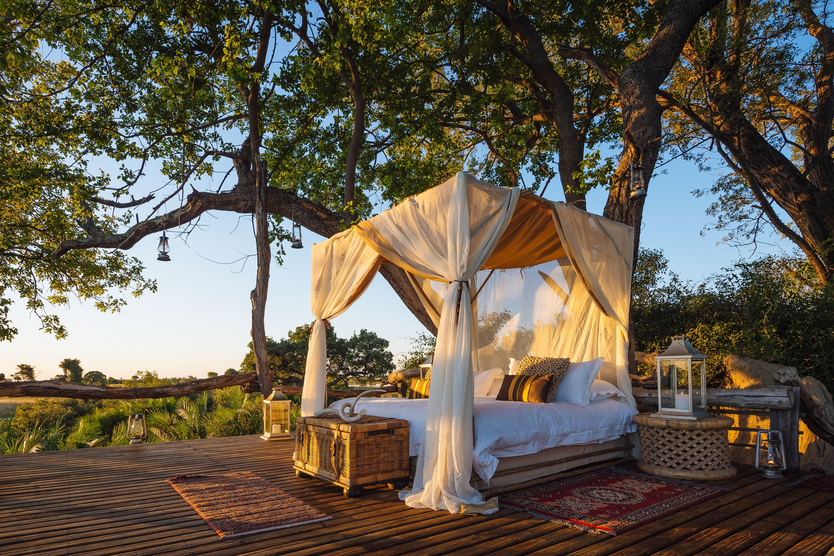 Jao Camp Okavango botswana top places to sleep out africa starbeds