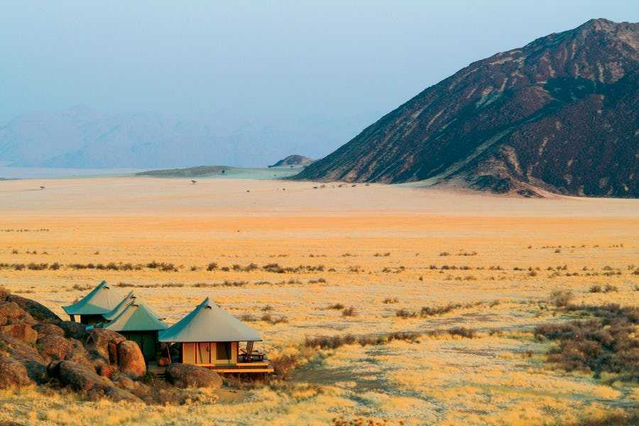 Boulders Camp Namibia desert top lodges that keep us coming back