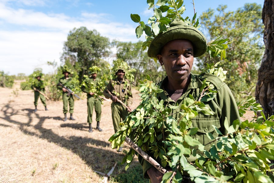Ol Pejeta Rangers World Ranger Day