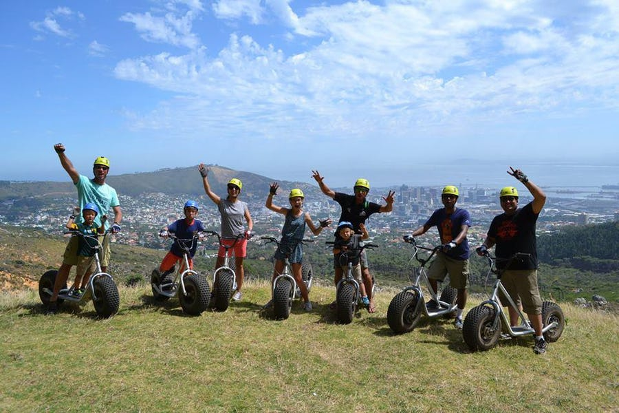 Scootour - Family activities in Cape Town