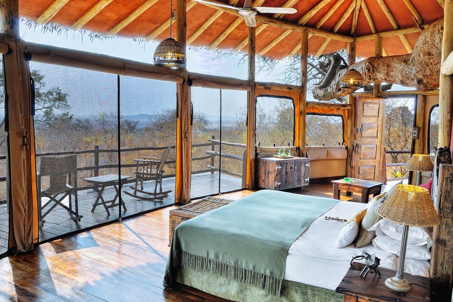 Tarangire Treetops Tanzania - Unusual places to stay in Africa