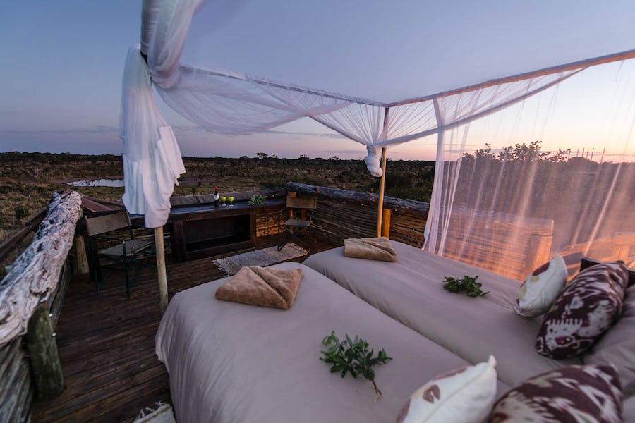 Skybeds Okavango Delta Botswana - Unusual places to stay in Africa