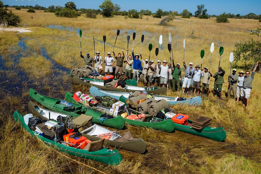 Canoe Adventure Botswana - Alternative ways to experience Africa