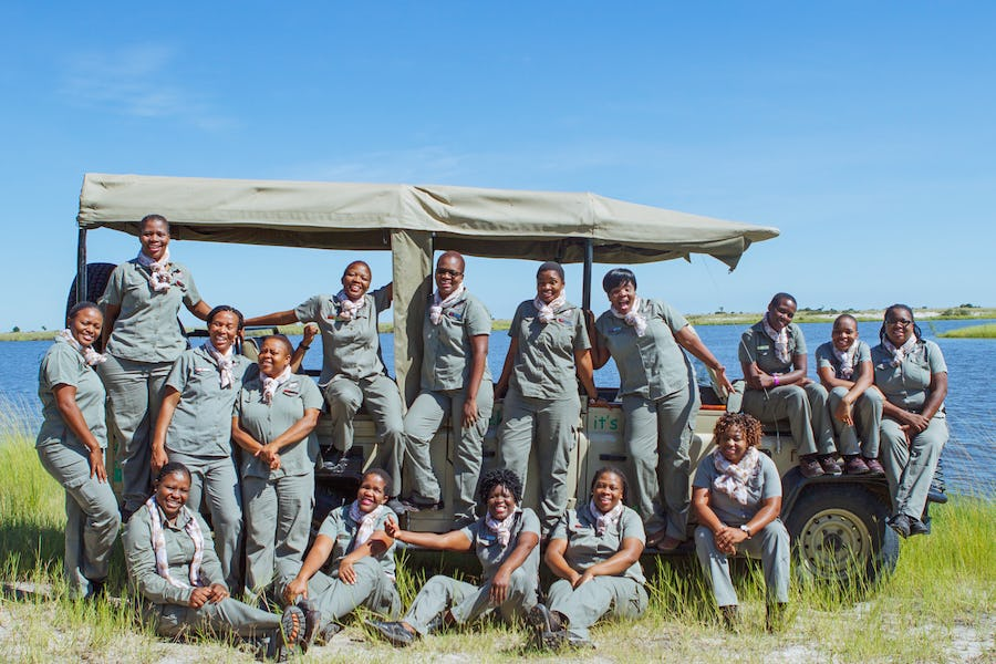 Female Guides Chobe Game Lodge - Women in Africa