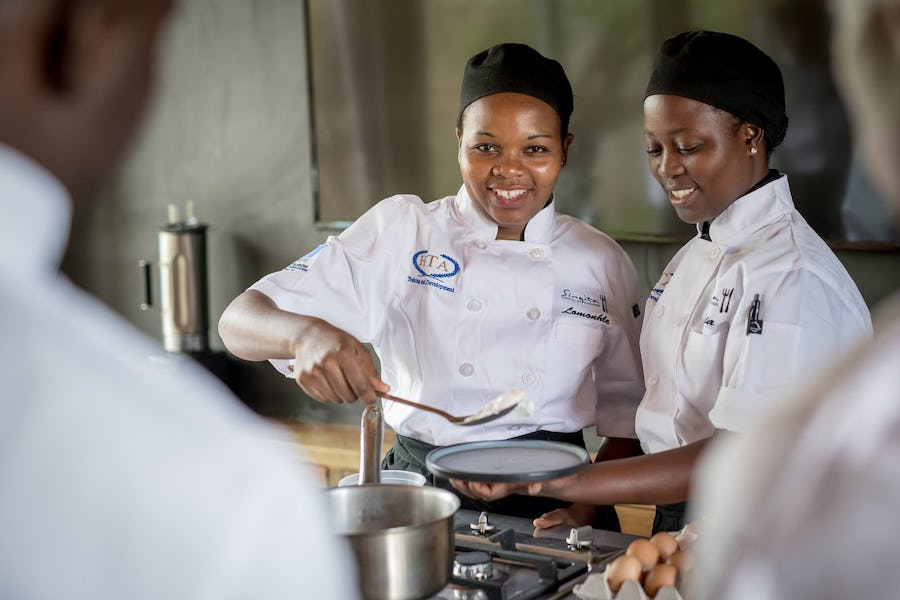 Singita School of Cooking Conservation in south africa