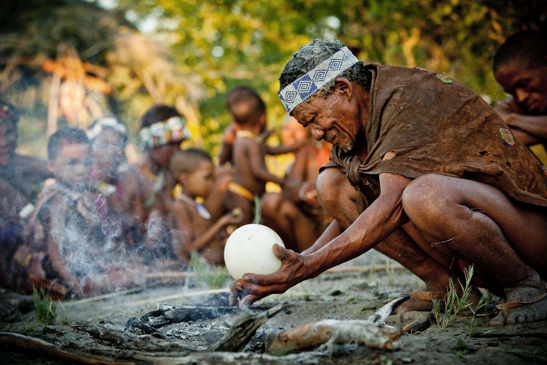 Cultural experiences in Africa - bushmen