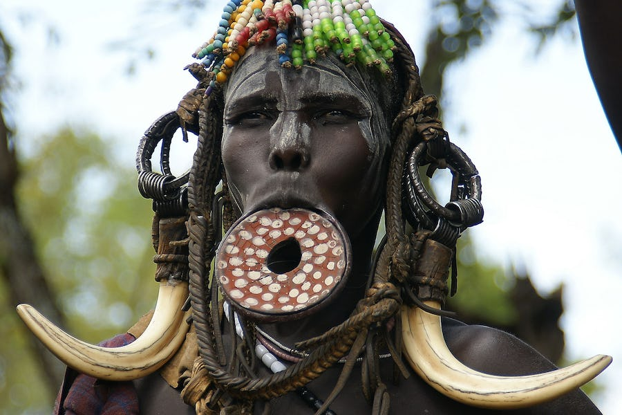 Cultural experiences in Africa - omo valley