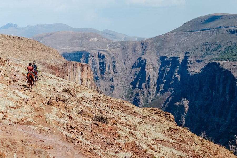 Hard to pronounce destinations - lesotho