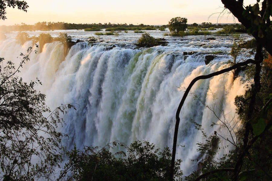 Wonders of Africa - victoria falls zimbabwe