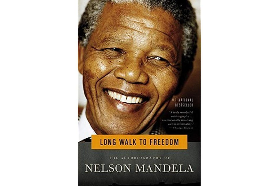 Favourite South African Books - long walk to freedom