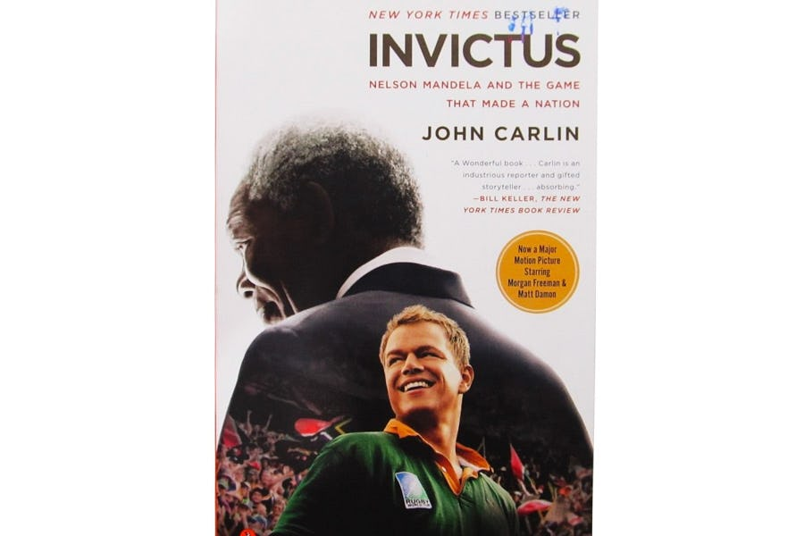 Favourite South African Books - invictus