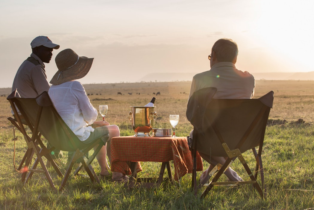 A day on safari - elephant pepper camp