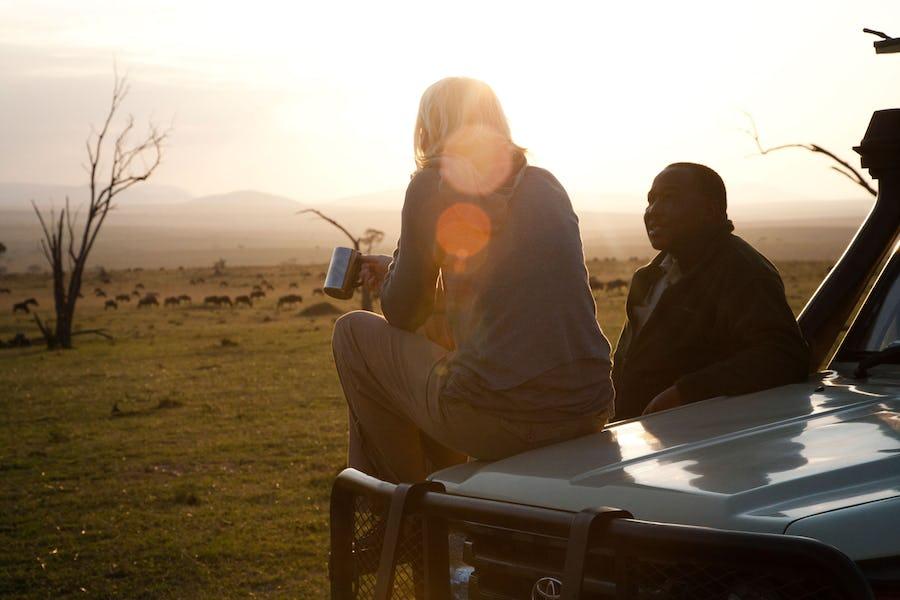 A day on safari - serengeti safari camp
