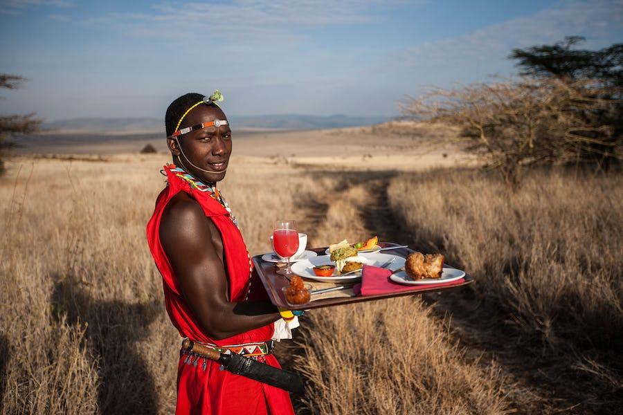 A day on safari - lewa downs