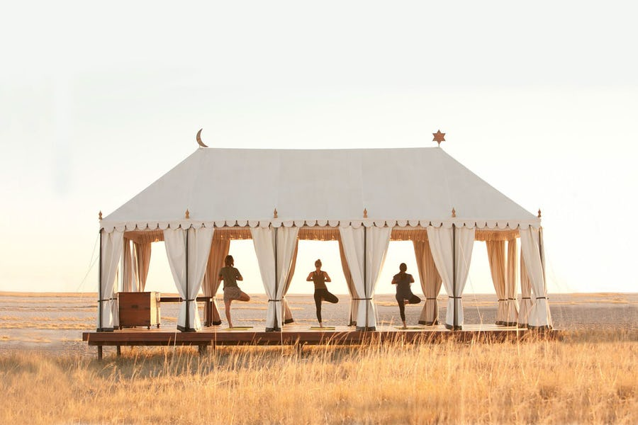 Best wellness safaris - san camp