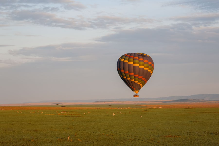 Sky Safari in Kenya - masai mara