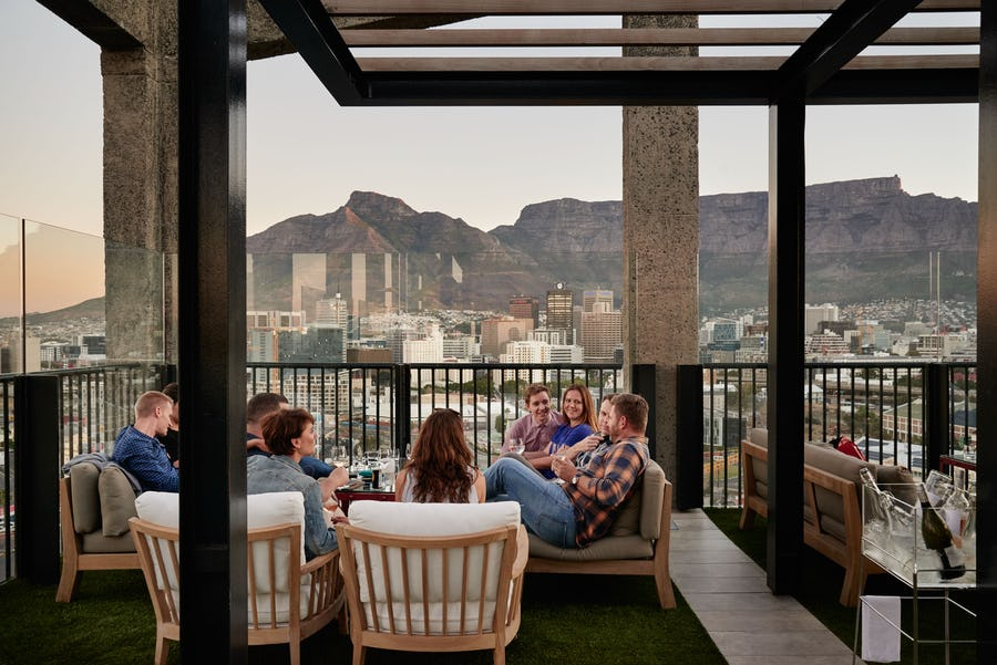 Best bars in Cape Town - the silo
