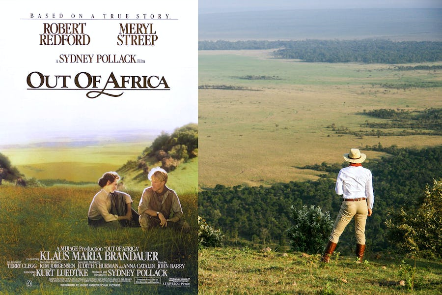 Famous movies filmed in Africa - angama mara