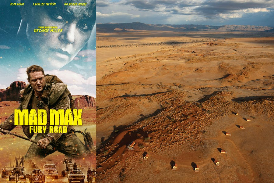 Famous movies filmed in Africa - mad max