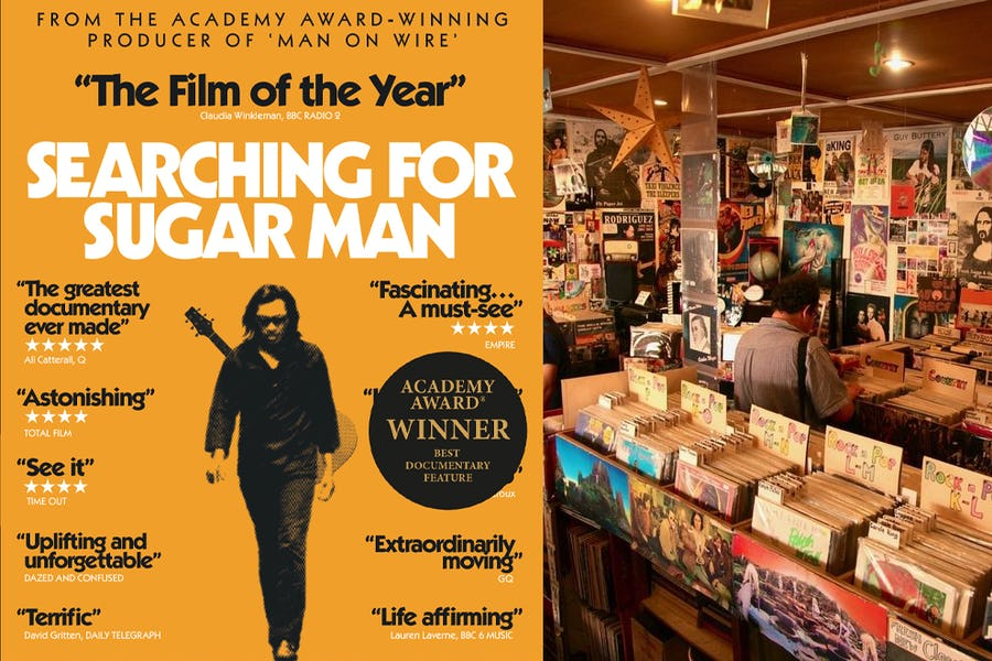 Famous movies filmed in Africa - sugarman