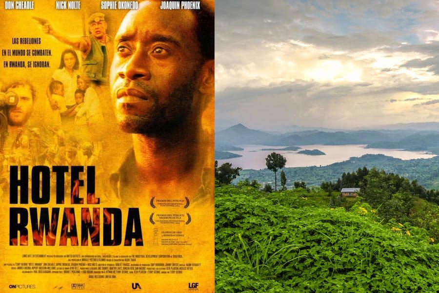 Famous movies filmed in Africa - hotel rwanda