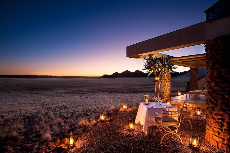Types of accommodation - desert lodge