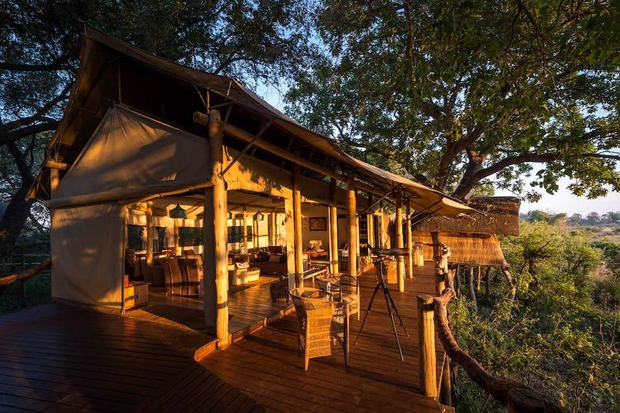 Types of accommodation - Tubu Tree Camp